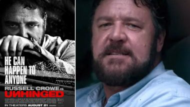 Russell Crowe on His Film Unhinged: It Just Sets off a Series of Events You Just Wouldn't Have Expected