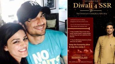 Sushant Singh Rajput's Sister Shweta Singh Kirti Wants 'This Diwali, Sushant Wali' (Read Tweet)