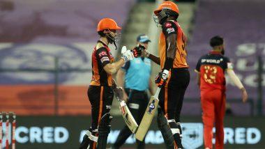 SRH vs RCB Stat Highlights IPL 2020 Eliminator: Kane Williamson, Jason Holder's Unbeaten Partnership Helps Sunrisers Hyderabad Beat Royal Challengers Bangalore By 6 Wickets