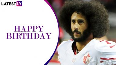 Colin Kaepernick Birthday Special: Lesser-Known Facts About Former San Francisco 49ers Quarterback and American Activist