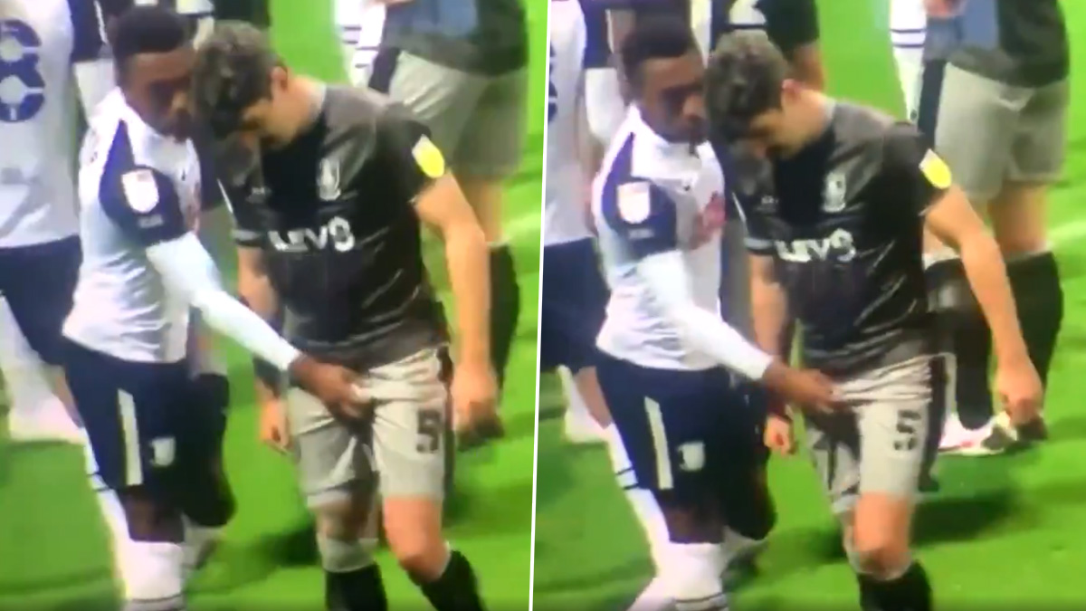 Update: Preston defender, Darnell Fisher hit with three-match ban by FA for grabbing genitals of Sheffield Wednesday player, Callum Paterson || PEAKVIBEZ