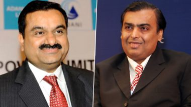 Gautam Adani Ahead of Mukesh Ambani in List of Indians Who Recorded Maximum Wealth Addition in Crisis Year 2020