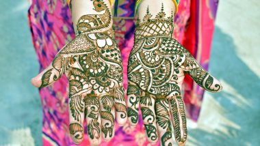 Tulsi Vivah 2020 Mehndi Design Easy Videos: Latest Simple Henna Patterns to Adorn Your Palms for the Auspicious Festival of Tulasi Vivaha