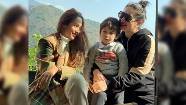Malaika Arora Soaks in Some Sunshine with Kareena Kapoor Khan and Little Taimur and their Picture Together is Warming Our Hearts