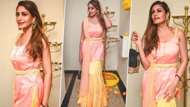 Surbhi Chandna's Pastel Colour Sharara Set is Perfect for those Who Hate Loud Colours and OTT Fashion