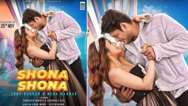 Shona Shona: Sidharth Shukla and Shehnaaz Gill's New Song to Release on THIS Date, Former Bigg Boss Contestants Look So Much in Love in their First Look