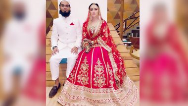 Sana Khan Marries Anas Sayed, Shares First Wedding Photo (View Post)
