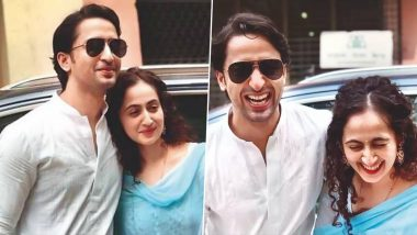 Shaheer Sheikh and Ruchikaa Kapoor Are Married! Groom Says, ' I'm Looking Forward to My Never-Ending Travels With Her'