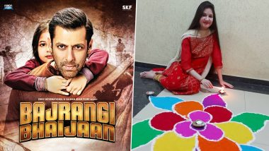 Internet's Gushing Over Salman Khan's Bajrangi Bhaijaan Co-Star Harshaali Malhotra All Over Again After Seeing Her Diwali Pics