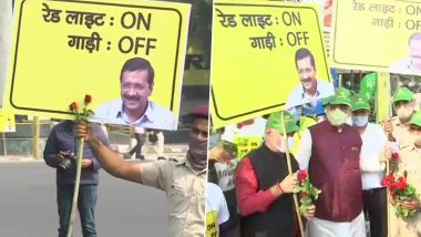 'Red Light on, Gaadi Off' Campaign's 2nd Phase Launched by Delhi Govt Amid Rising Air Pollution in National Capital