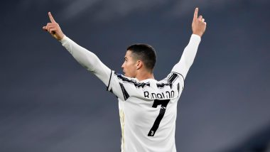 Cristiano Ronaldo Presented With Commemorative Jersey By Juventus for Netting 750 Career Goals