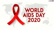 World AIDS Day 2020 Quotes & HD Images: Inspirational Sayings and Slogans to Raise the Awareness on HIV/ AIDS