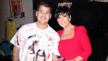Kris Jenner Praises Son Rob Kardashian's Parenting Skills, Calls Him a 'Great Dad'
