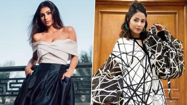 Fashion Faceoff: Hina Khan or Mouni Roy - Whose Idea of Monochrome Fashion Gets Your Vote?
