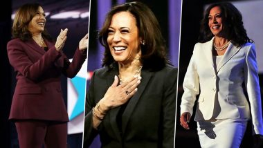 Kamala Harris Top Fashion Moments: Pantsuits, Sports Shoes & Confidence, Here's How Vice President-Elect's Sartorial Choices Are Making Powerful Style Statements