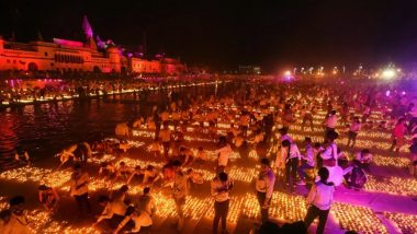 Ayodhya Deepotsav 2020 Live Streaming on Doordarshan National: Watch Mega Diwali Celebrations in Holy City