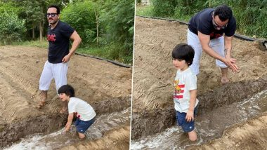 Saif Ali Khan And Taimur Are Busy Farming In Pataudi! Pics Of The Father – Son Duo Go Viral