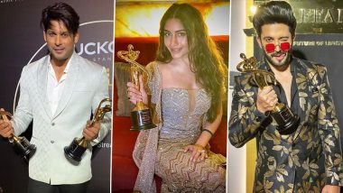 Gold Glam & Style Awards 2020 Winners List: Surbhi Chandna, Sidharth Shukla, Dheeraj Dhoopar Bag Trophies In Different Categories