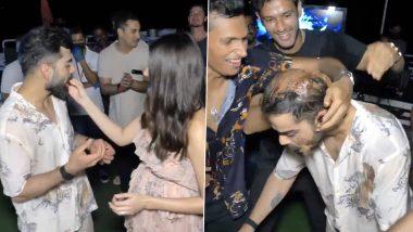 Virat Kohli Celebrates 32nd Birthday With Wife Anushka Sharma and RCB Teammates on Private Yacht in UAE (Watch Video)