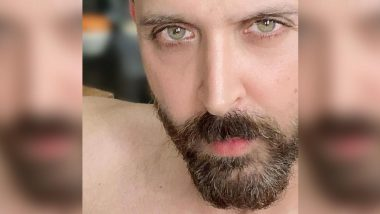 Hrithik Roshan Is Ready to Say Goodbye to His Beard, Shares a Last Look on Social Media (View Pic)