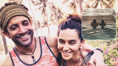 Farhan Akhtar and Lady Love Shibani Dandekar Find Their Happy Place in Maldives (See Pic)