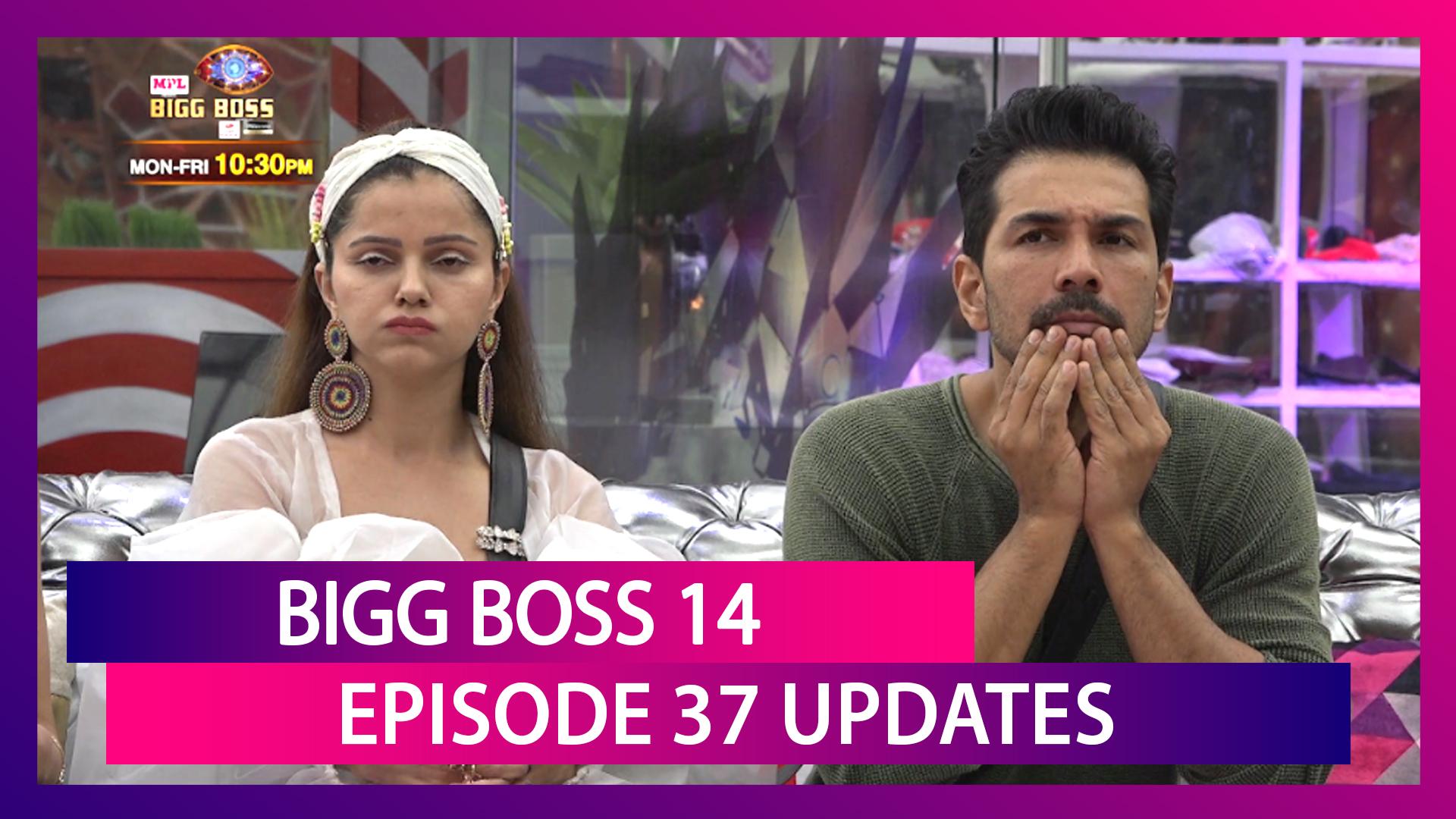 Bigg Boss 14 Ep 37 Updates | 24 Nov 2020: Rubina, Abhinav, Rahul, Jasmin, Pavitra, Aly Nominated