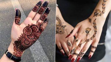 Bhai Dooj Mehendi Design Images Tutorials Simple Arabic Indian Rajasthani Floral Peacock Bracelet Vine Style Mehndi Design For Front Back Hand Fingers Feet Watch Videos Latestly