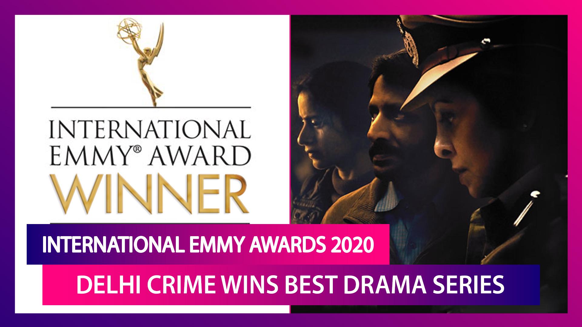 International Emmy Awards 2020: Delhi Crime Wins Best Drama Series Award; Shefali Shah's Reaction Just Cannot Be Missed!