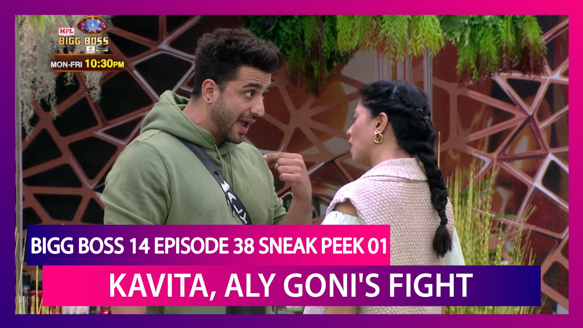 Bigg Boss 14 Episode 38 Sneak Peek 01 | Nov 24 2020: Kavita Kaushik, Aly Goni's Ugly Fight
