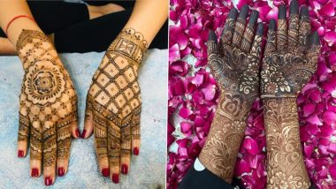 Dev Deepawali 2020 Mehendi Designs: Simple Arabic, Rajasthani, Indian, Vine-Style & Criss-Cross Mehndi Pattern Images & Tutorial Videos for Back and Front Hand on Kartik Purnima