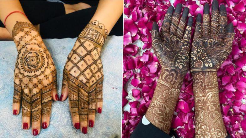 Dev Deepawali 2020 Mehendi Designs: Simple Arabic, Rajasthani, Indian, Vine-Style & Criss-Cross Mehndi Pattern Images & Tutorial Videos for Back and Front Hand on Kartik Purnima