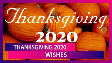 Happy Thanksgiving 2020 Wishes: WhatsApp Messages, Facebook Greetings & SMS to Send on the Day