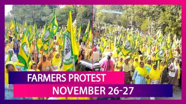Farmers Protest Delhi Police Sets Up Checkpoints To Stop Farmers, Haryana Seals Borders With Punjab