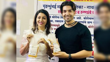 Gurmeet Choudhary and Wife Debina Bonnerjee Donated Plasma for the Treatment of COVID-19 Patients