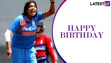 Jhulan Goswami Birthday Special: Lesser-Known Facts About the Veteran Indian Fast Bowler