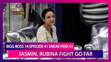 Bigg Boss 14 Episode 41 Sneak Peek 01 | Nov 27 2020: Jasmin Get Personal During Rubina Fight