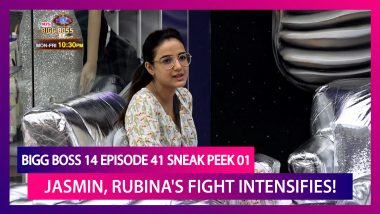 Bigg Boss 14 Episode 41 Sneak Peek 01 | Nov 27 2020: Jasmin Gets Personal As She Argues With Rubina
