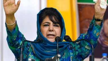 Mehbooba Mufti Lashes Out At Centre, Claims Degree of Oppression has Increased in J&K After Gupkar Alliance Decided to Contest DDC Elections 2020