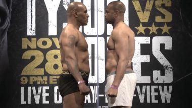 How to Watch Mike Tyson vs Roy Jones Jr Boxing Fight Live Streaming Online in IST?