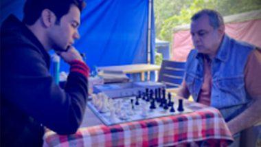 Rajkummar Rao Shares Throwback Pic Playing a Game of Chess with 'Shatranj Ke Khiladi' Paresh Rawal