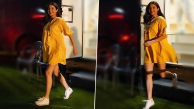 Anushka Sharma's Maternity Styling is on Fleek, Actress Looks Radiant in her Yellow Anita Dongre Outfit