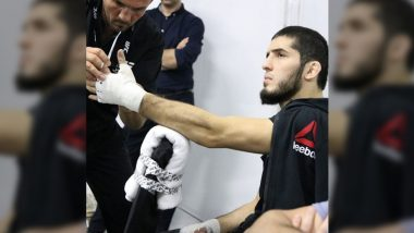 Islam Makhachev Apologies to Fans After MMA Fighter Pulls Out of UFC Vegas 14 Main Event Against Rafael dos Anjos