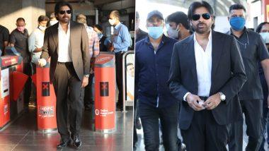 Pawan Kalyan Travels in Hyderabad Metro for Vakeel Saab Shoot (See Pics)