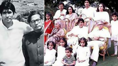 On Harivansh Rai Bachchan's birth anniversary, we have 10 pictures of Amitabh Bachchan