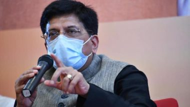 Diwali 2020 Wishes: Piyush Goyal Extends Greeting to People of the Nation, Says 'Hope the Coming Year Will be Good One'