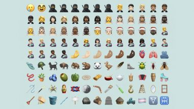 Apple's iOS 14.2 Gets Huge Shout-Out From Users! Women Wearing Suits, Men Wearing Dresses, Trans Pride Flag & More, Netizens Are Obsessed With the Latest Update That Has Over 100 New Emojis