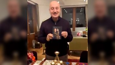 Anupam Kher Introduces His Third Book 'Your Best Day Is Today' Which He Wrote in COVID-19 Lockdown (Watch Video)