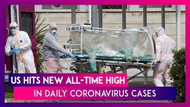 US Hits New All-Time High In Daily Coronavirus Cases; Reports 136,325 COVID-19 Cases In Past 24 Hours, Death Toll Mounts To 240,800