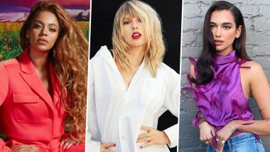 aosnqkjbwloe2m https www latestly com entertainment hollywood grammys 2021 beyonce taylor swift and dua lipa lead the nominations 63rd annual grammy awards is all about women power 2164408 html