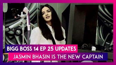 Bigg Boss 14 Episode 25 Updates | Nov 05 2020: Jasmin Bhasin Becomes The New Captain